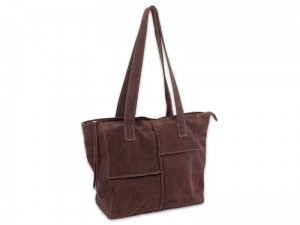 "Torebka tote ""Patch chocolate"""
